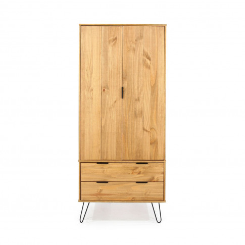 Casa Alden 2 Door, 2 Drawer Wardrobe