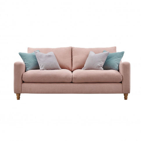 Casa Ruby 3 Seater Fabric Sofa