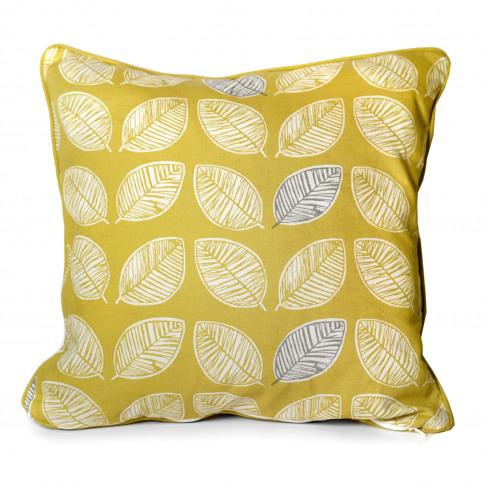 Rosenthal Delft Cushion, 43x43cm, Ochre