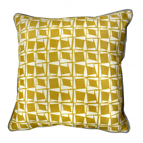 Rosenthal Capella Cushion, 43x43cm, Ochre