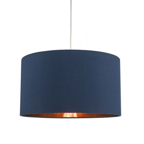 Dar Timon Ceiling Pendant Shade - Blue And Copper