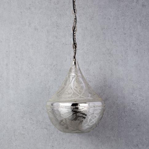 Edit Souk Large Ceiling Pendant Light - Silver