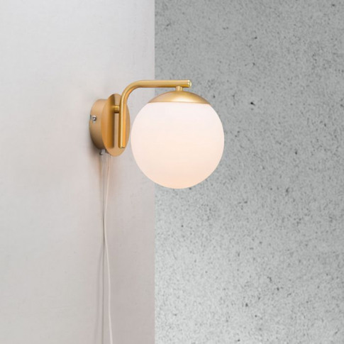 Nordlux Grant Wall Light With Plug