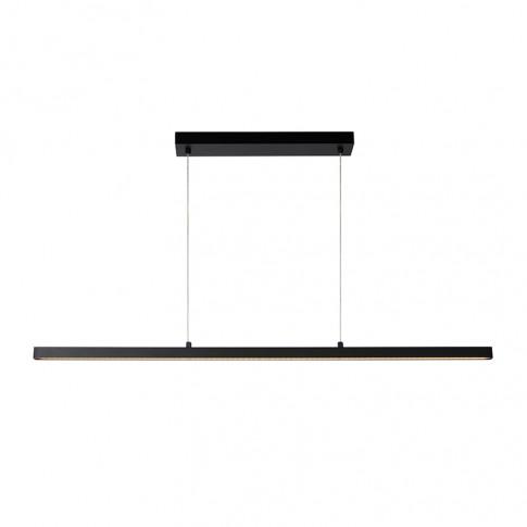 Lucide Sigma Led Bar Ceiling Pendant Light - Black