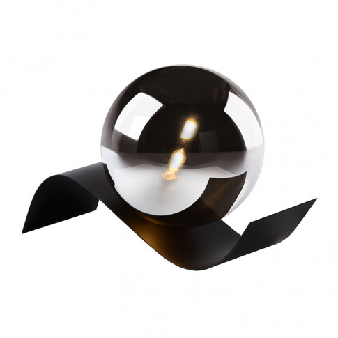 Lucide Yoni Table Lamp - Smoked Glass