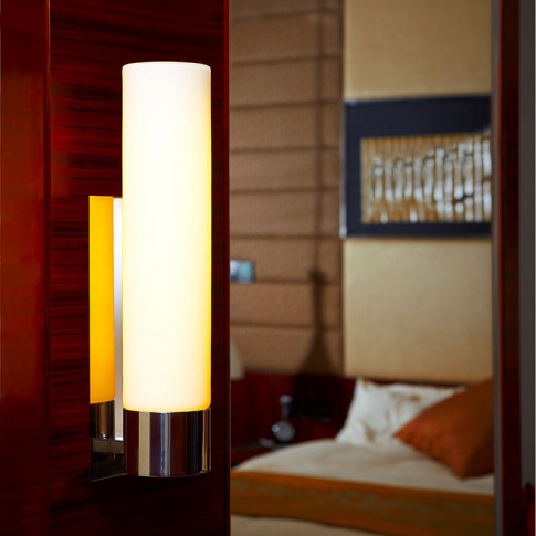 Edit Common Wall Light - Polished Stainless Steel