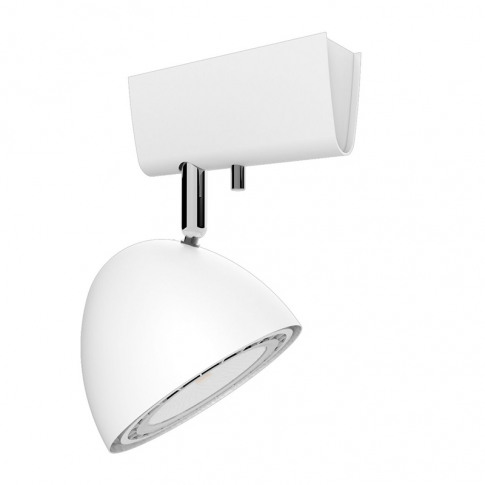 Edit Motor Single Spotlight - White