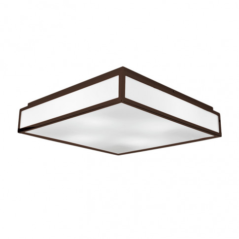 Edit Glaze Flush Ceiling Light - Bronze