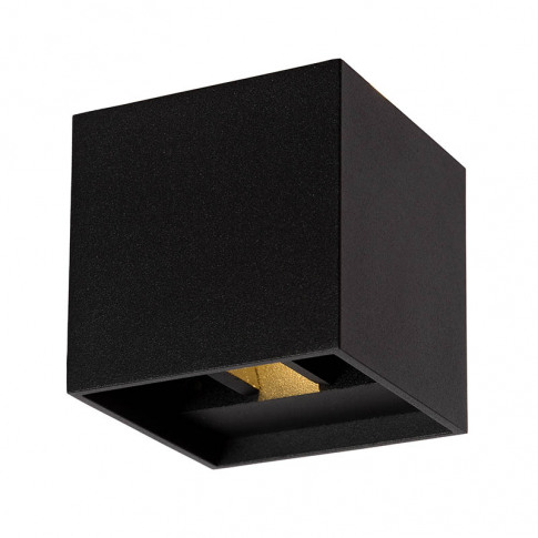 Lucide Xia Led Up & Down Wall Light - Black