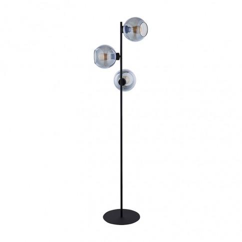 Edit Scope 3 Light Glass Floor Lamp - Smoked