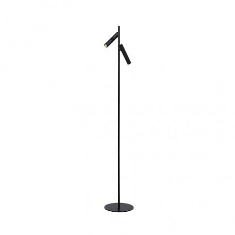 Lucide Philon 2 Light Led Floor Lamp - Black