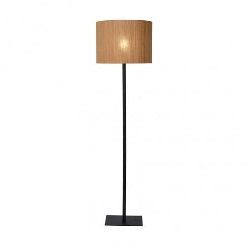 Lucide Magius Floor Lamp - Rattan