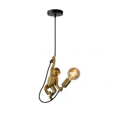 Lucide Extravaganza Chimp Ceiling Pendant Light - Bl...
