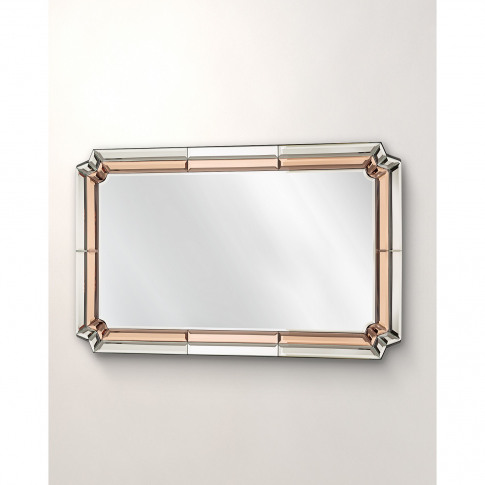 Aurora Glass Wall Mirror Large
