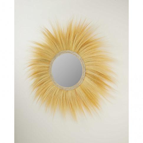 Singa Seagrass Mirror Natural